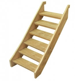 Treated Pine Stair Kit - Six Tread