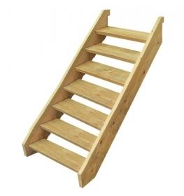 Treated Pine Stair Kit - Seven Tread
