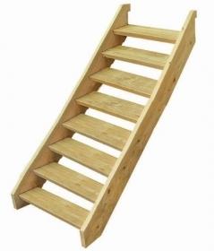 Treated Pine Stair Kit - Eight Tread