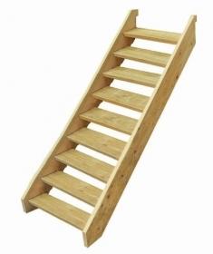 Treated Pine Stair Kit - Nine Tread