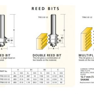 Reed Router Bits