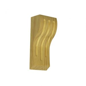 170x70x50mm Fluted Timber Corbel