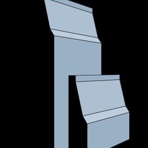 Luton MDF Primed Skirting Board 18mm