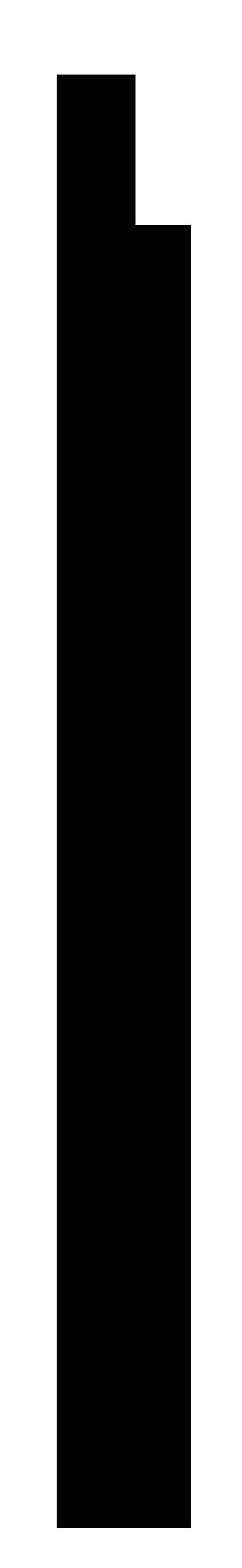Luton MDF Primed Skirting Board 18mm Profile