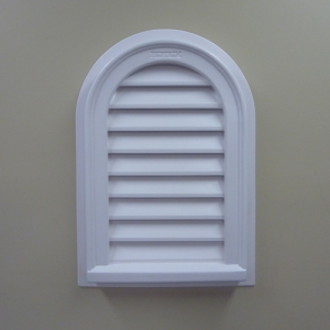 Gable Vent Round Top Functional
