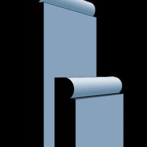 Stamford MDF Primmed Skirting Board 18mm