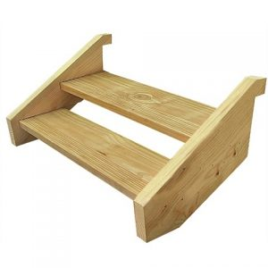 Treated Pine Stair Kit - Two Tread