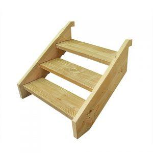 Treated Pine Stair Kit - Three Tread